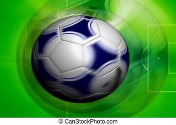 sports, soccer ball, spin