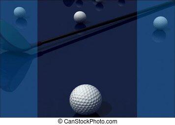 golf, golfball, sport