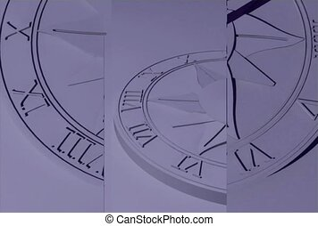 time interval, sundial, shadow