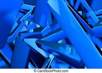 shine, blue, cluster