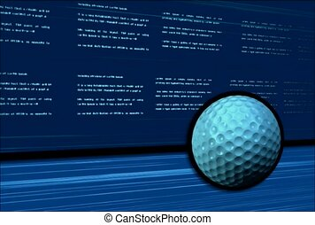 sports, golf, data sort