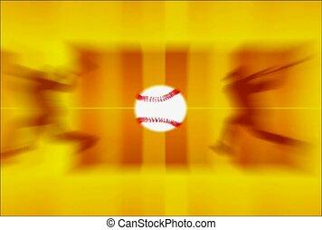 base ball, active, player