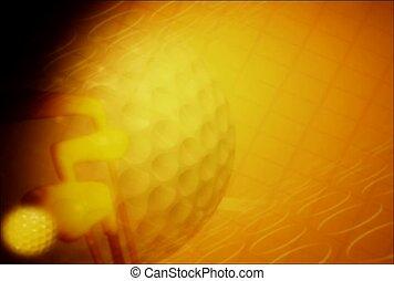 sport, golf, ball
