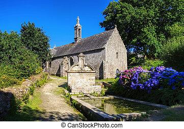 Chapelle Notre Dame de Bonne Nouvelle in Locronan, medieval...