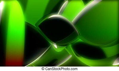 green, shape, swivel