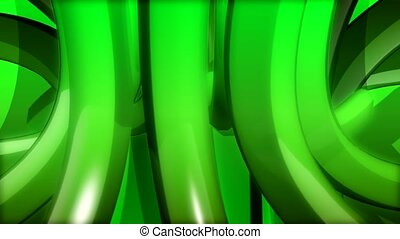 green, curve, gyrate