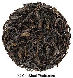 Chun Lan Wu Yi Mountain Rock Oolong Tea round shape