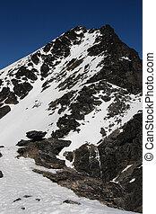 remarkables mountain peak - Peak of queenstown remarkables...