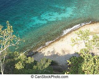 Dolok oan reef - Reef off Dolok oan beach in East Timor.