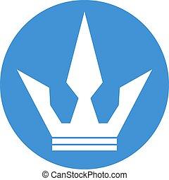 imaginative crown icon - Creative design of imaginative...