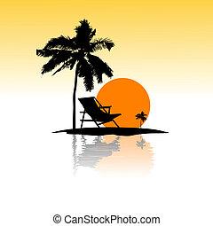 sea beach card