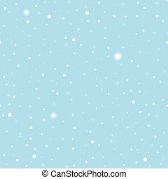 Christmas clean background and seamless pattern with snow