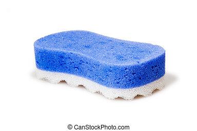 sponge, bath whisp