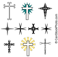Tatoo - Holy Cross - A set of tatoo - Holy Cross