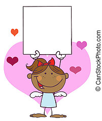 Hispanic Female Stick Cupid