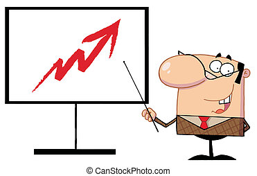 Business Manager Cartoon Character