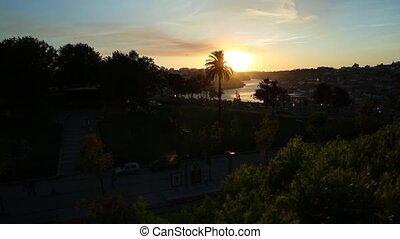 Jardim do Morro Oporto - Aerial view of Jardim do Morro, a...