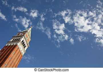 Italy, Venice, St. Mark's Square - St. Mark's Square in...