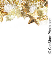Christmas decoration background - Christmas background with...