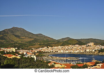 Banyuls-sur-mer is a picturesque town in southern France...