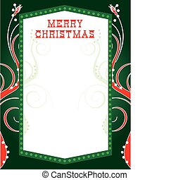 Christmas Lights Template2 - Vector Illustration of abstract...