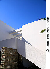 Traditional architecture of Oia (Santorini island, Greece)