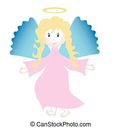 Angel - Vector art in Adobe illustrator EPS format