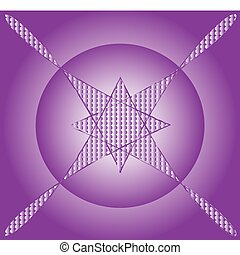 Purple background, vector