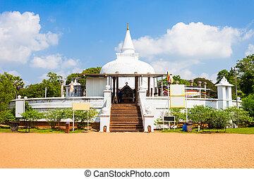 Lankaramaya stupa in Anuradhapura - Lankaramaya or Lankarama...