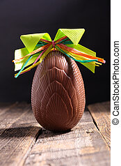 chocolate egg, easter holiday