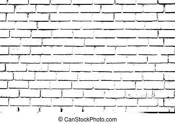 Brickwall Overlay Texture - Distress brick wall masonry...