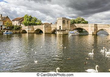 15th century bridge, St Ives - 15th century bridge, over the...
