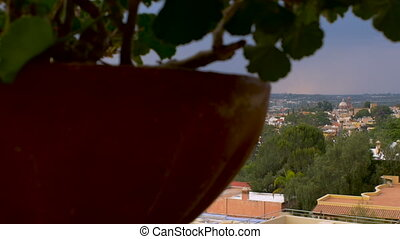 """""""Dolly reveal of the iconic church and city of San Miguel de..."""