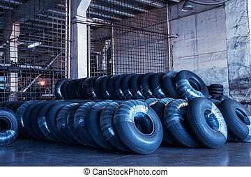 Avia tires production, industrial space