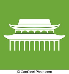 Buddha Toothe Relic Temple in Singapore icon green - Buddha...