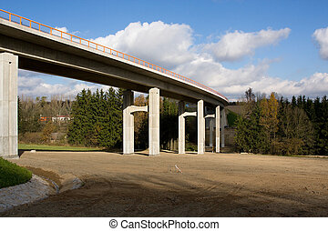 Road Bridge in the Czech Republic