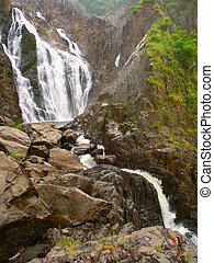Barron Falls - Queensland, Australia - Barron Falls in...