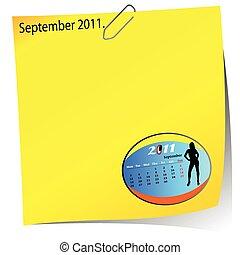 reminder of september 2011