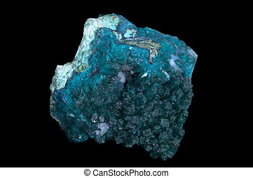 Dioptase mineral stone - Dioptase is an intense...