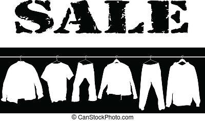 sale clothing white illustration