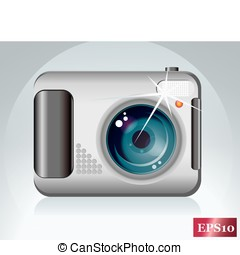 digital camera - vector digital camera