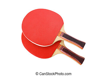 racquet tennis isolated on a white background