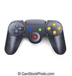joystick - illustration of joystick on white background