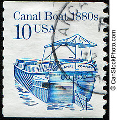 Canal Boat 1880s