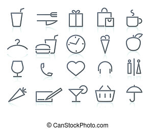 icon set - Vector illustration of original lifestyle Icon...