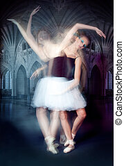 ballerina in motion