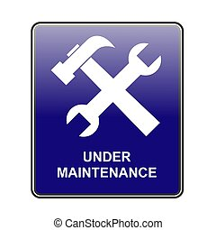 maintenance - This is a image of web button