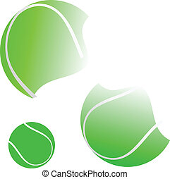 tennis ball illustration