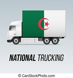 National Delivery Truck - Symbol of National Delivery Truck...