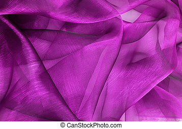 wavy organza fabric - closeup of the wavy organza fabric